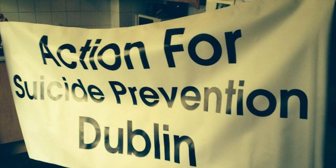 Suicide prevention march in Dublin