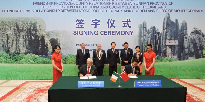 Council signs agreement in China