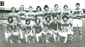 Among the greatest Clare U-21 teams that were unlucky not to win the championship were the 1974 and 2008 teams. The 1972 Clare team ended the dominance of Cork. Clare again defeated Cork and then Tipperary in 1974, but lost a low scoring Munster final to Waterford. This Clare U-21 team is pictured at the Gaelic Grounds, Limerick on July 14, 1976.  After a great hour's hurling, Cork triumphed with a late goal, 2-11 to 3-6. Back, from left:  Pat O'Connor (Tubber), Liam Corr, Con McGuinness, Brian Madden, Patsy Hehir, Peter Golden, Jimmy Kelly, Brendan Gilligan. Front: Noel McGuane, Declan Coote, Gerry O'Connor (Kilmaley), Donie Quinn, Tommy Keane, Ger Daly and Donal Hassett.     John Callinan is missing from the photograph.  The Clarecastle man played for five years at U-21 level, from 1972-1976 inclusive.