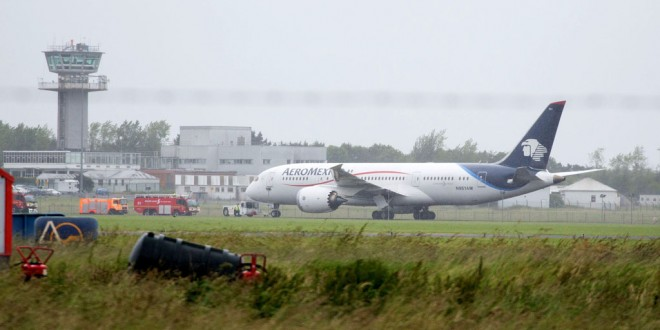 Emergency landing at Shannon