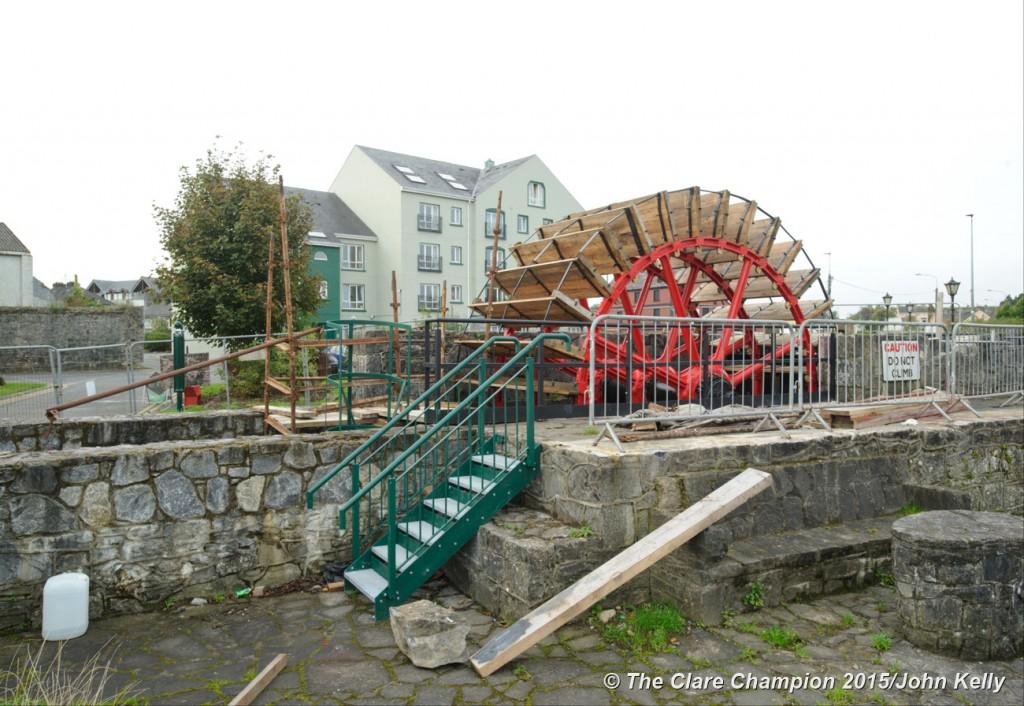 The Mill Wheel in Ennis.