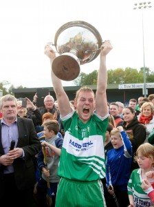 Wolfe Tones celebrate after the final at Sixmilebridge.