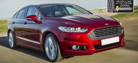 Ford Mondeo is Continental Irish Car of the Year 2016