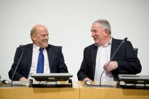 Ger Loughnane and #mike McNamara reflecting on thye exploits of 1995