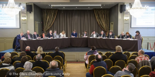 Politicians answer to Ennis Chamber
