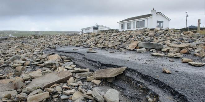 Imogen lashes Clare coastline