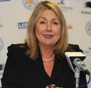 Leicester City chief executive, Susan Whelan