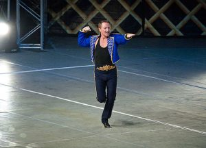Michael Flatley who was conferred with an honorary degree by the University of Limerick.