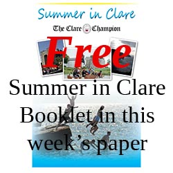 Free Summer in Clare Booklet