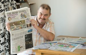 Mike Doab catches up with the national overage and headlines made by his nephews. Photograph by John Kelly.