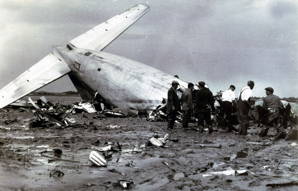 1961 President Airlines Douglas DC-6 crash