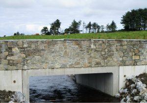Creevagh Bridge following its reinstatement.
