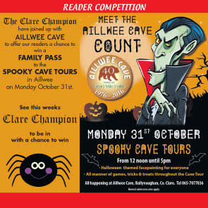 Ailwee Cave Halloween competition