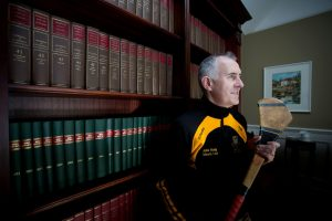 Ballyea GAA Club chairman Pat Moylan. Photograph by Arthur Ellis.