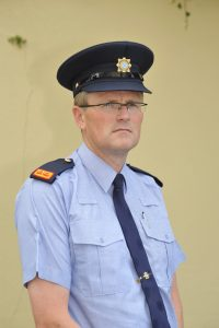 Detective Inspector John Galvin at Ennis Garda Station. Photograph by John Kelly.