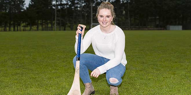Naomi Carroll at Cratloe GAA Club Photography by Eugene McCafferty