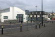 A deserted market area in Ennis showing that Clare citizens are observing the new rules.